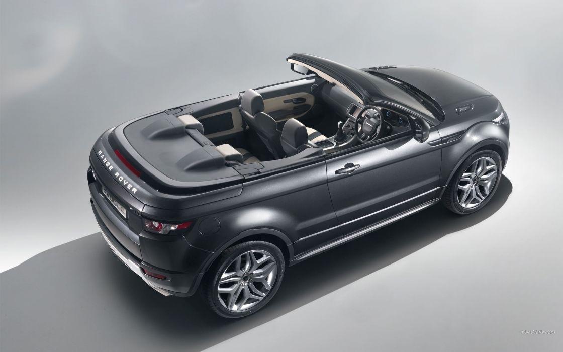 cars convertible Range Rover Range Rover Evoque concept car wallpaper