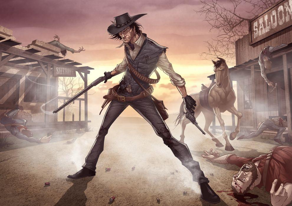 Red Dead Redemption marston wallpaper