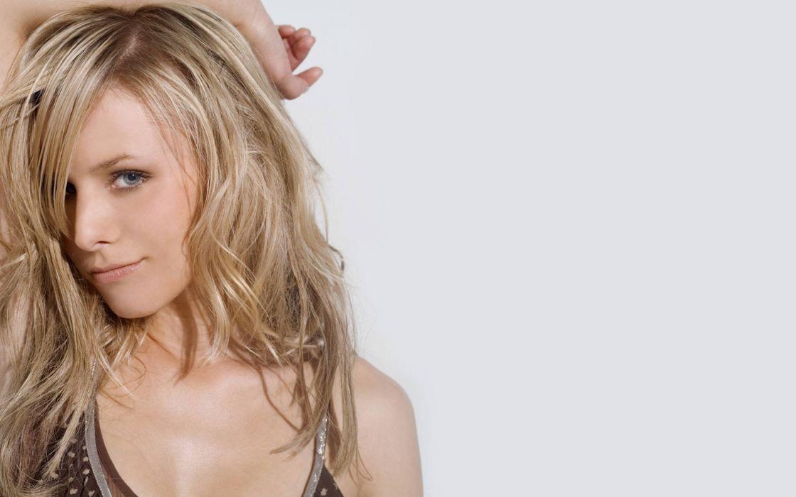 women Kristen Bell actress wallpaper