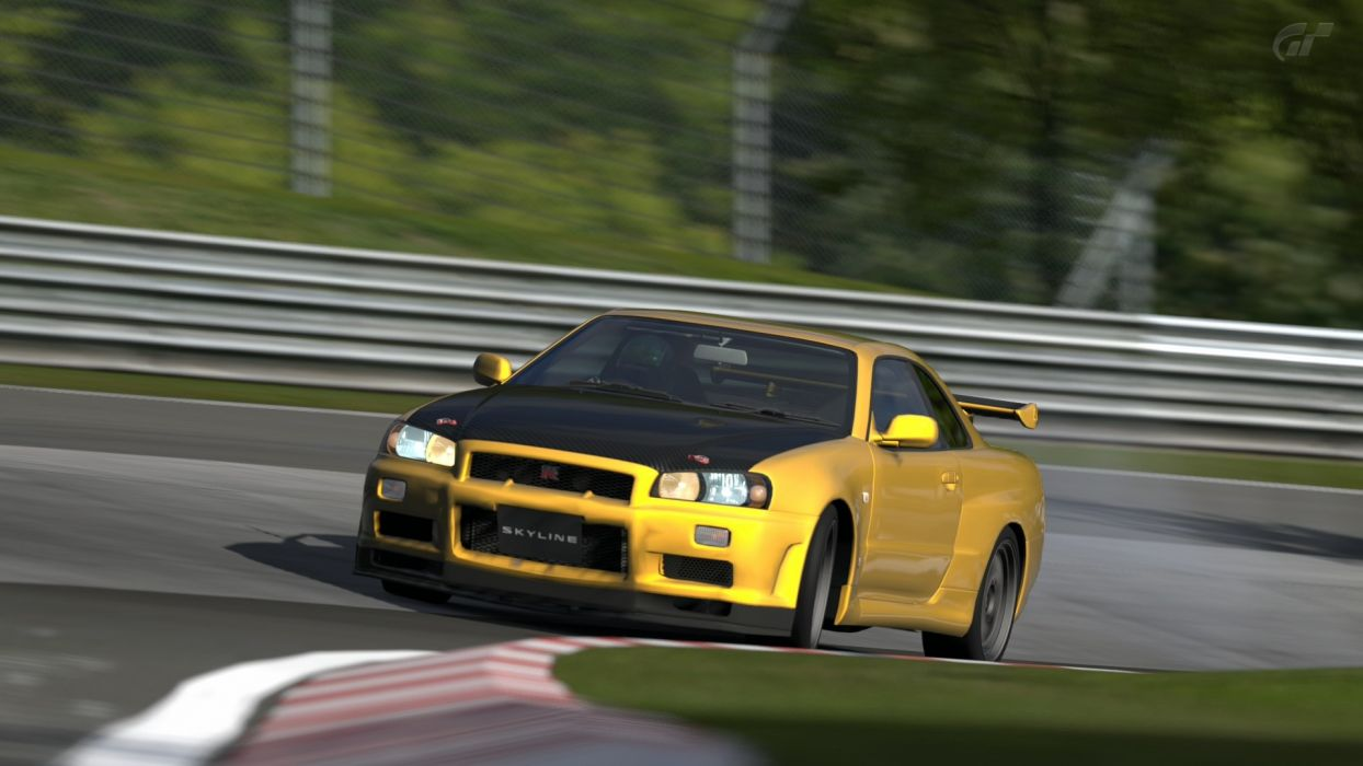 video games cars Nissan Skyline Gran Turismo 5 Playstation 3 wallpaper