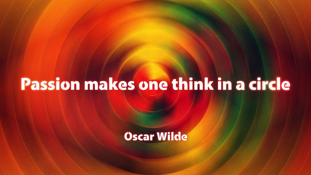 text quotes circles Oscar Wilde saying think sayings one wallpaper