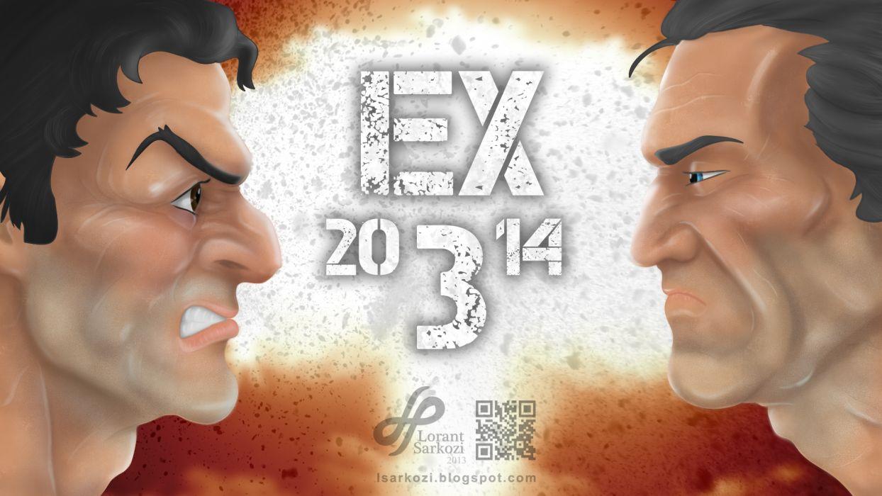 expendables 3 stallone sylvester gibson mel wallpaper 2014 wallpaper
