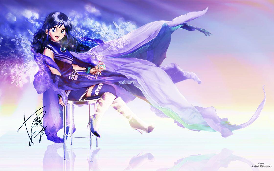 Aikatsu! Kiriya Aoi wallpaper