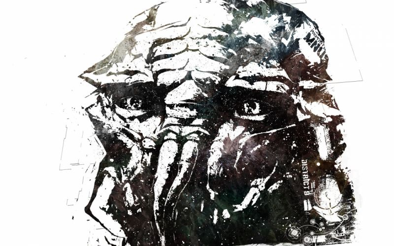 alien district 9 sci-fi wallpaper
