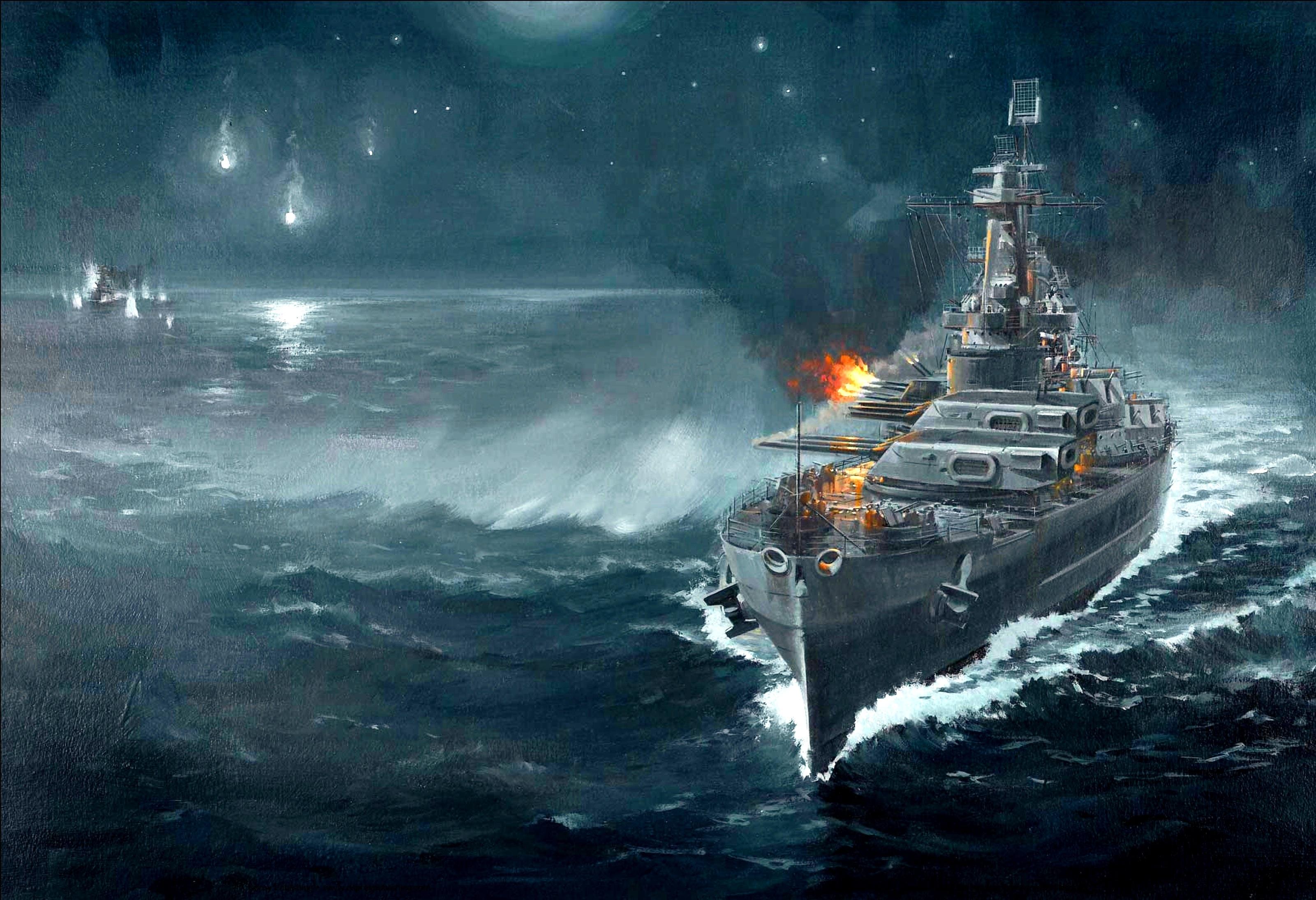 battleship wallpaper