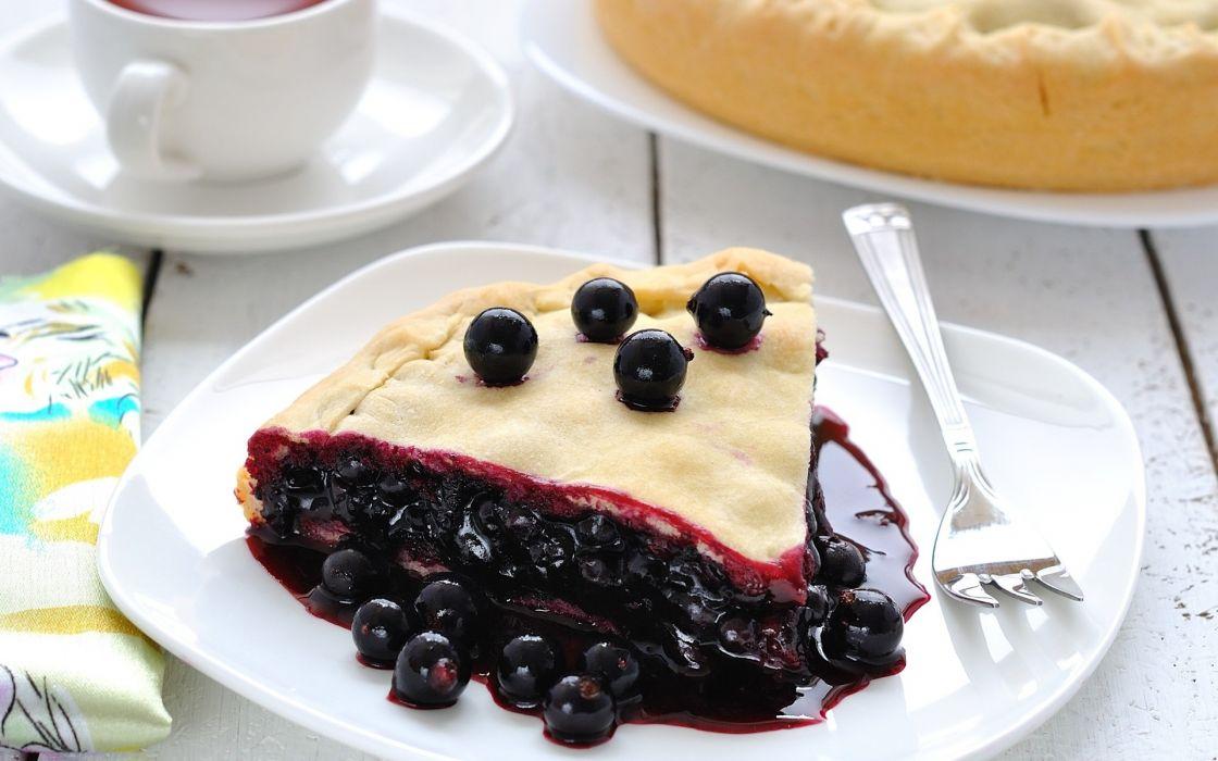 black currant food cake dessert wallpaper