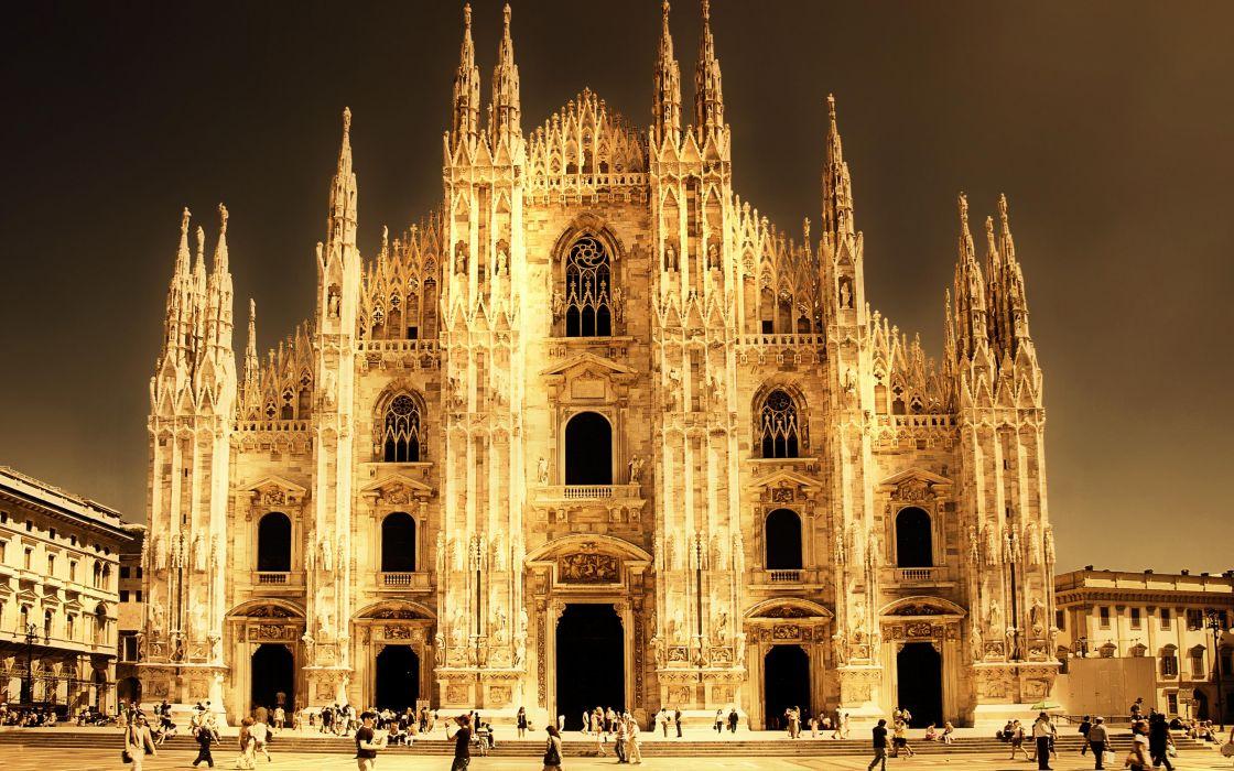 Cathedral Milano Italy wallpaper