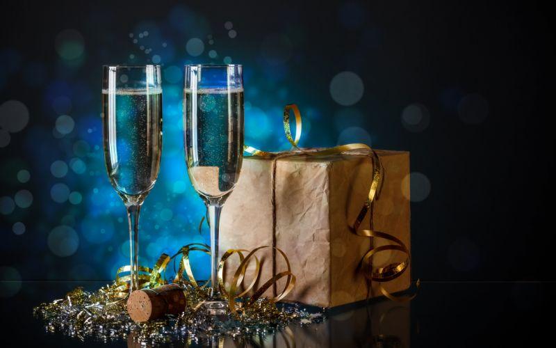 champagne celebration glasses wallpaper