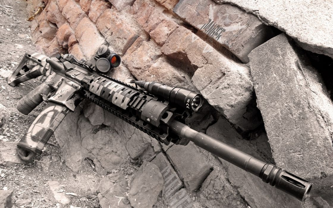 Colorado AR-15 military police weapon gun wallpaper