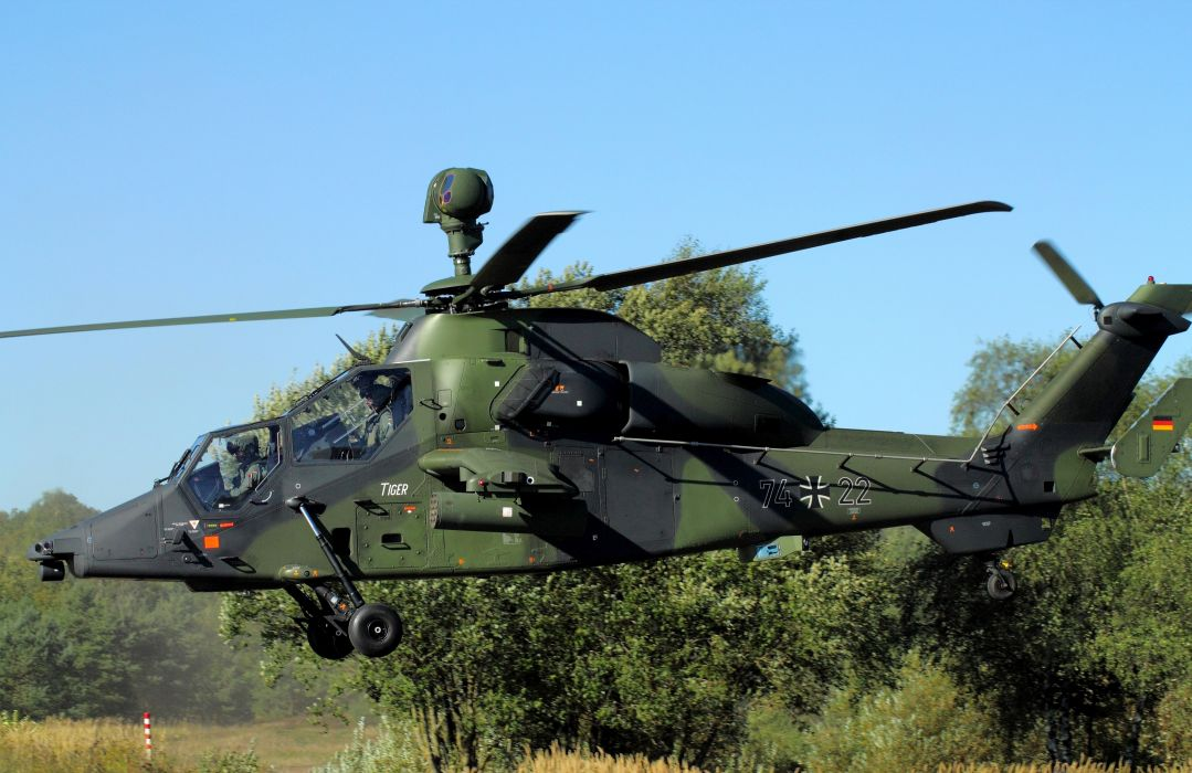 eurocopter tiger helicopter      h wallpaper