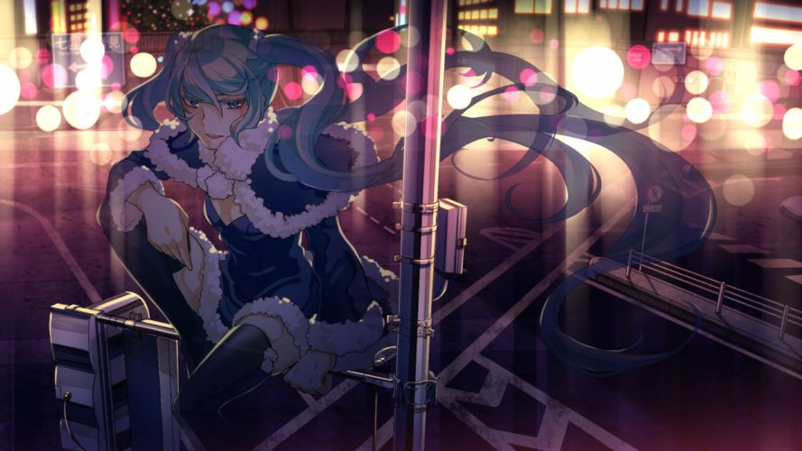 hatsune miku no_734 vocaloid wallpaper
