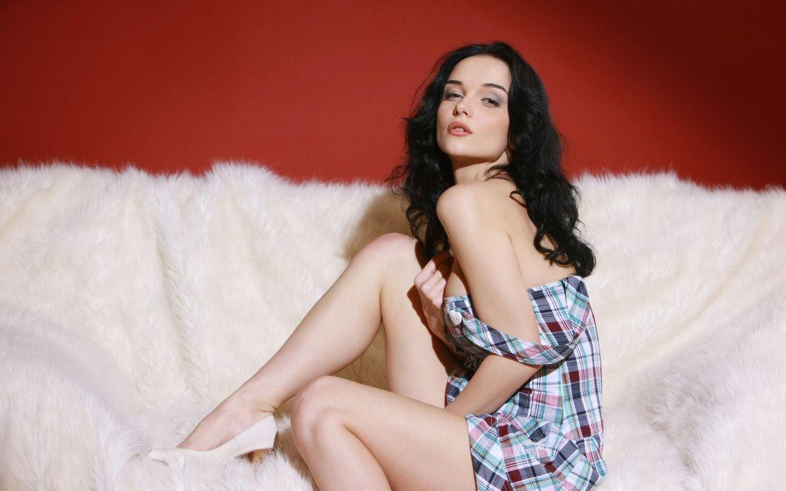 jenya d Eugenia Diordiychuk katie fey chest shirt wallpaper