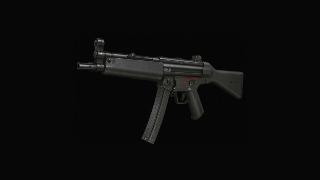 MP5  A Submachine gun  Classic  Dark weapon gun military police wallpaper