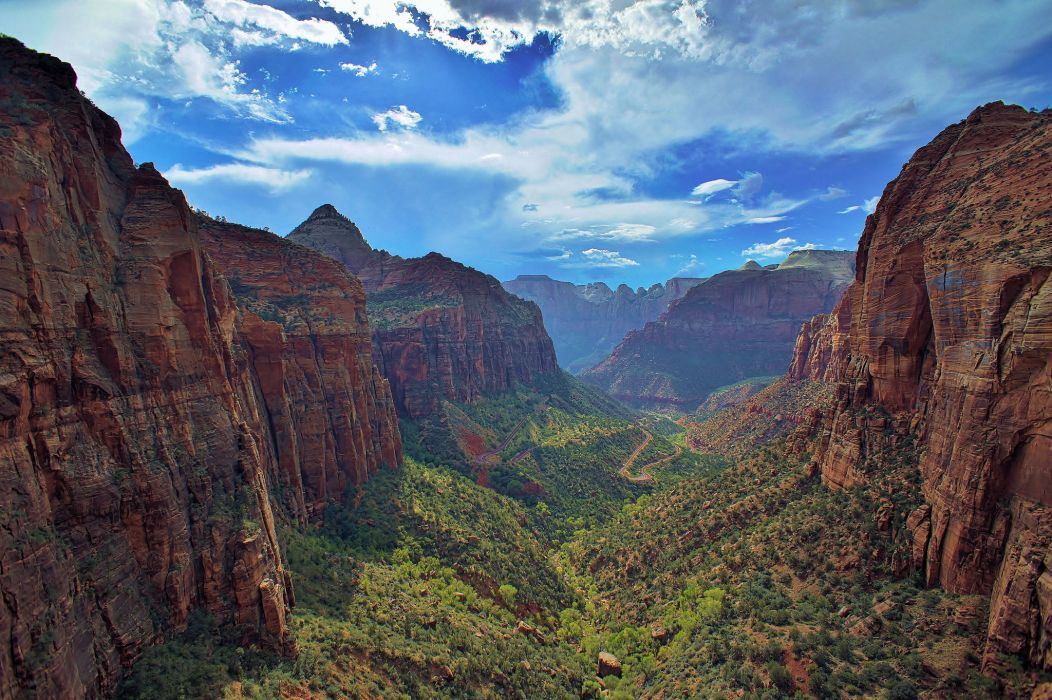 National Park Zion Canyon wallpaper