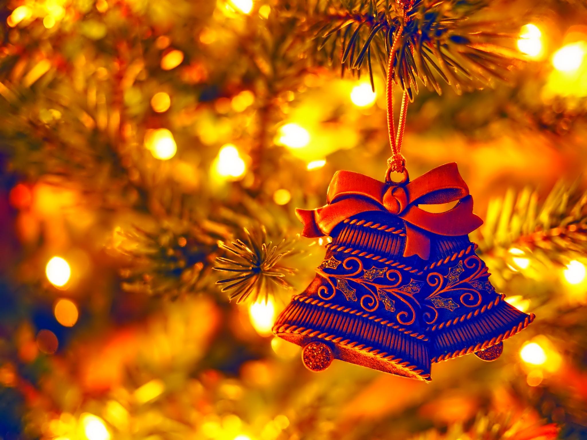 new year christmas holiday tree christmas decorations lights
