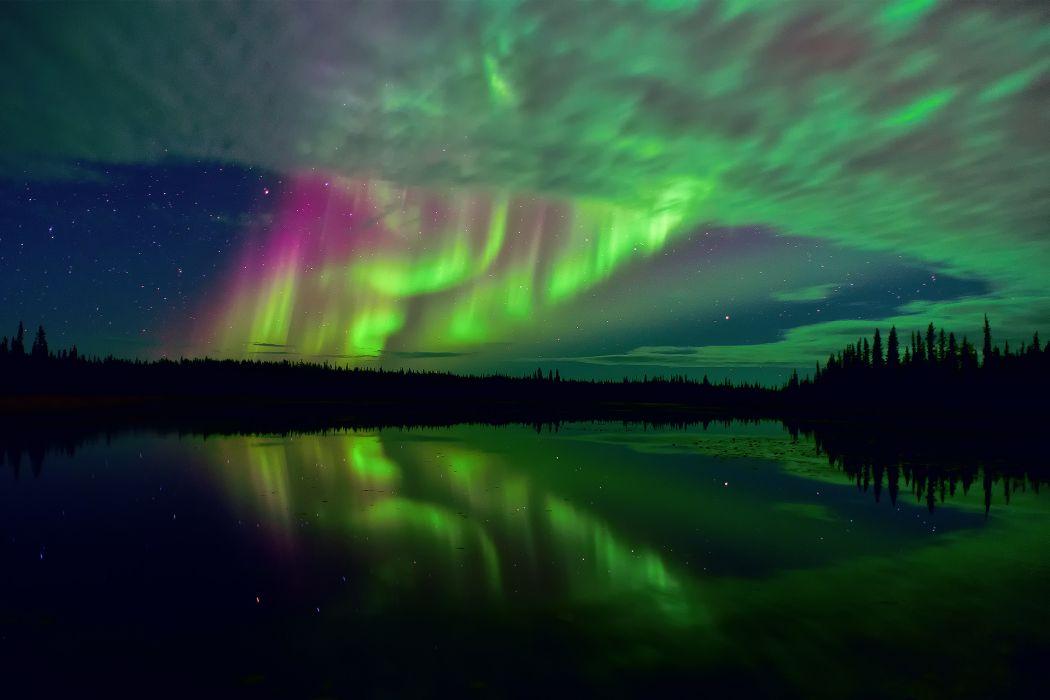 Northern Canada tundra arctic wallpaper