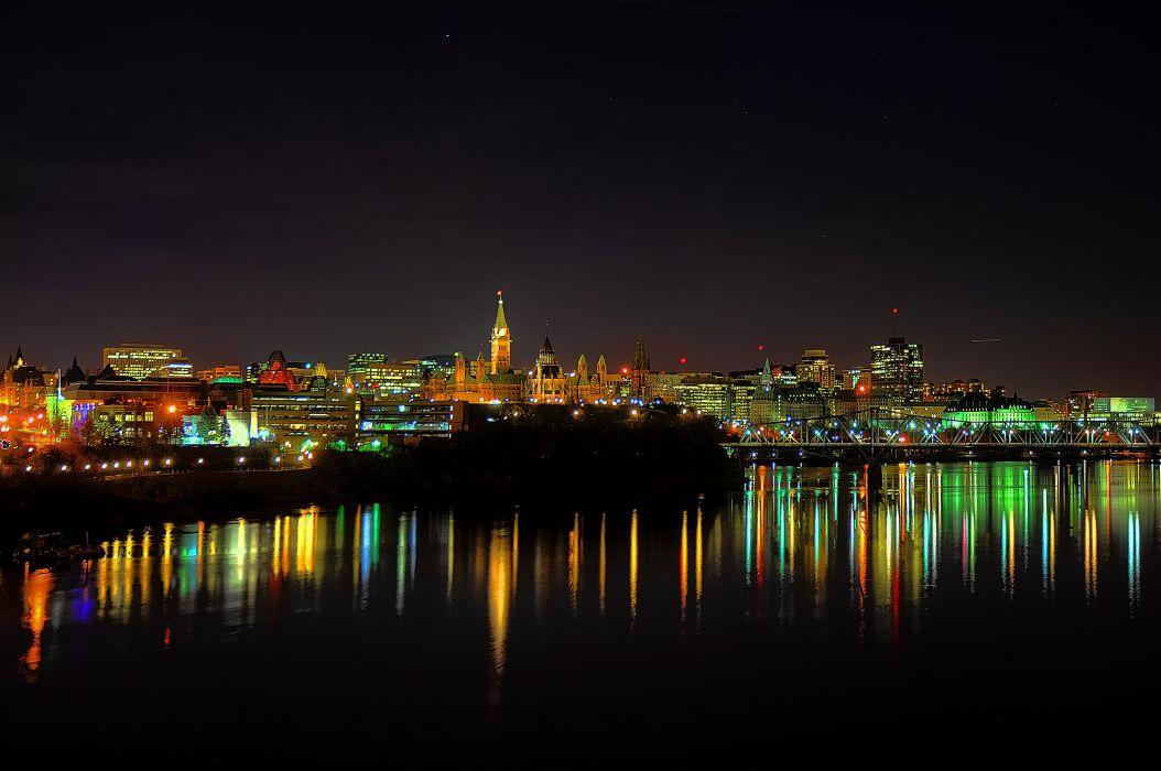 Ottawa Canada Interprovincial Bridge wallpaper