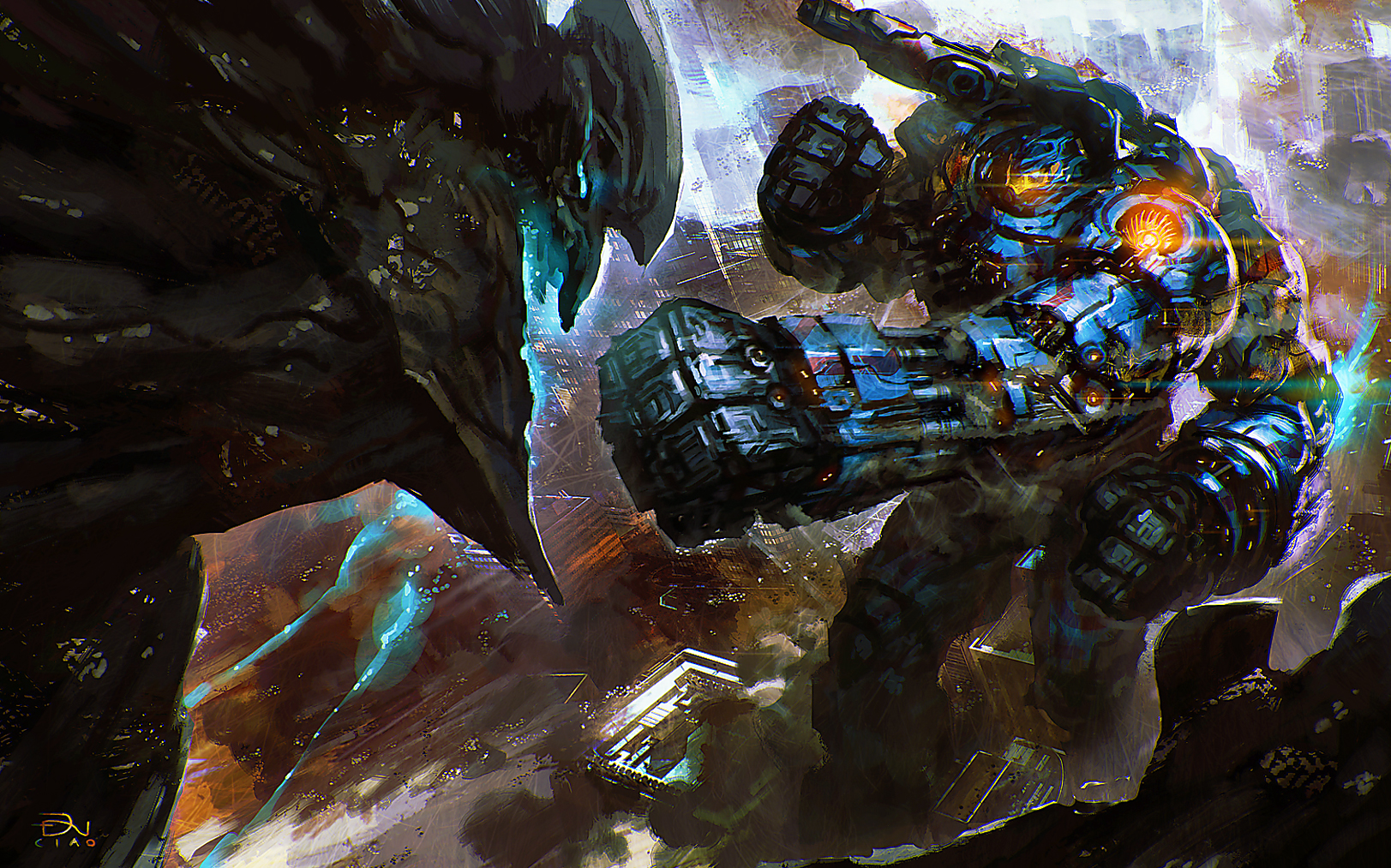 gypsy danger in pacific rim wallpapers - DriverLayer ... Pacific Rim Gypsy Danger Wallpaper 1920x1080