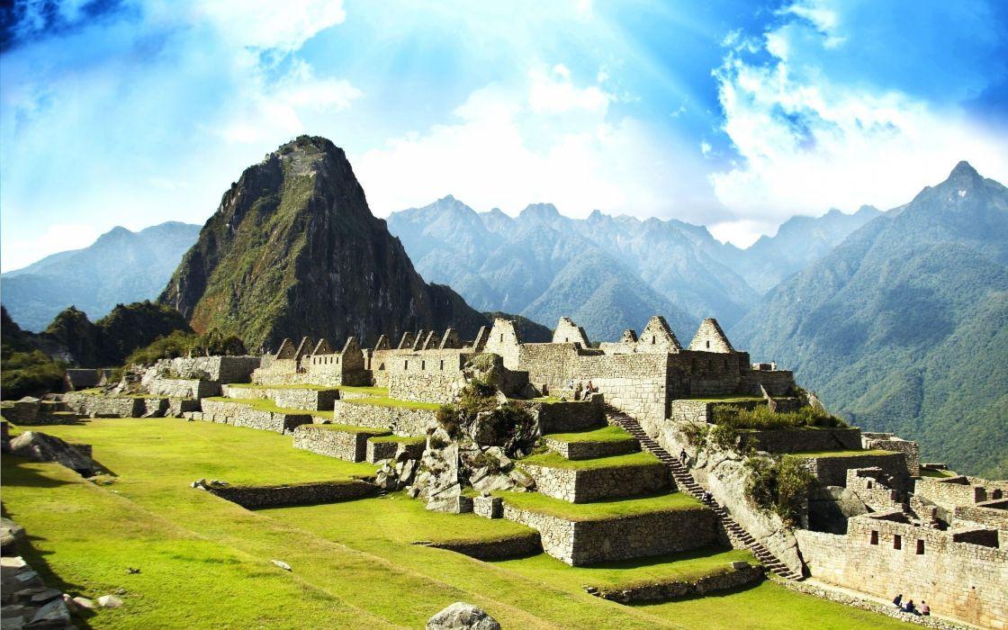 Pikchu Machu Picchu Peru wallpaper