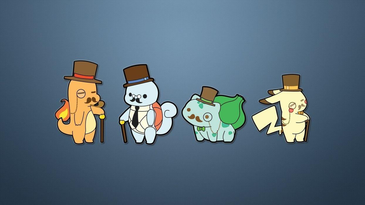 Pokemon Gentlemen wallpaper