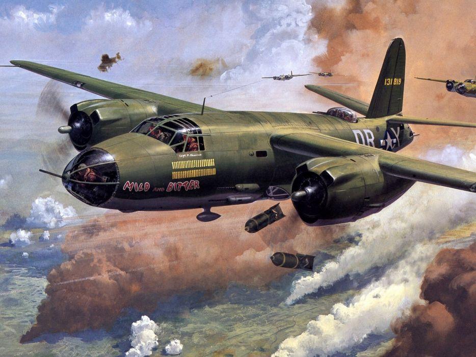 smoke_ bombs tears art planes sky military war battle art painting wallpaper
