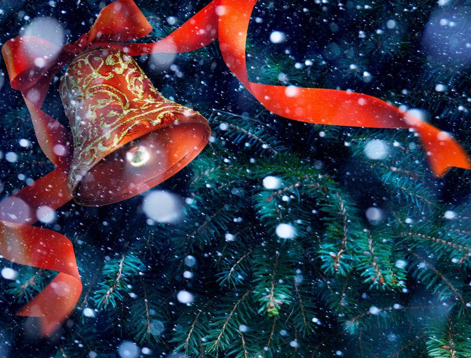 snow christmas new year wallpaper