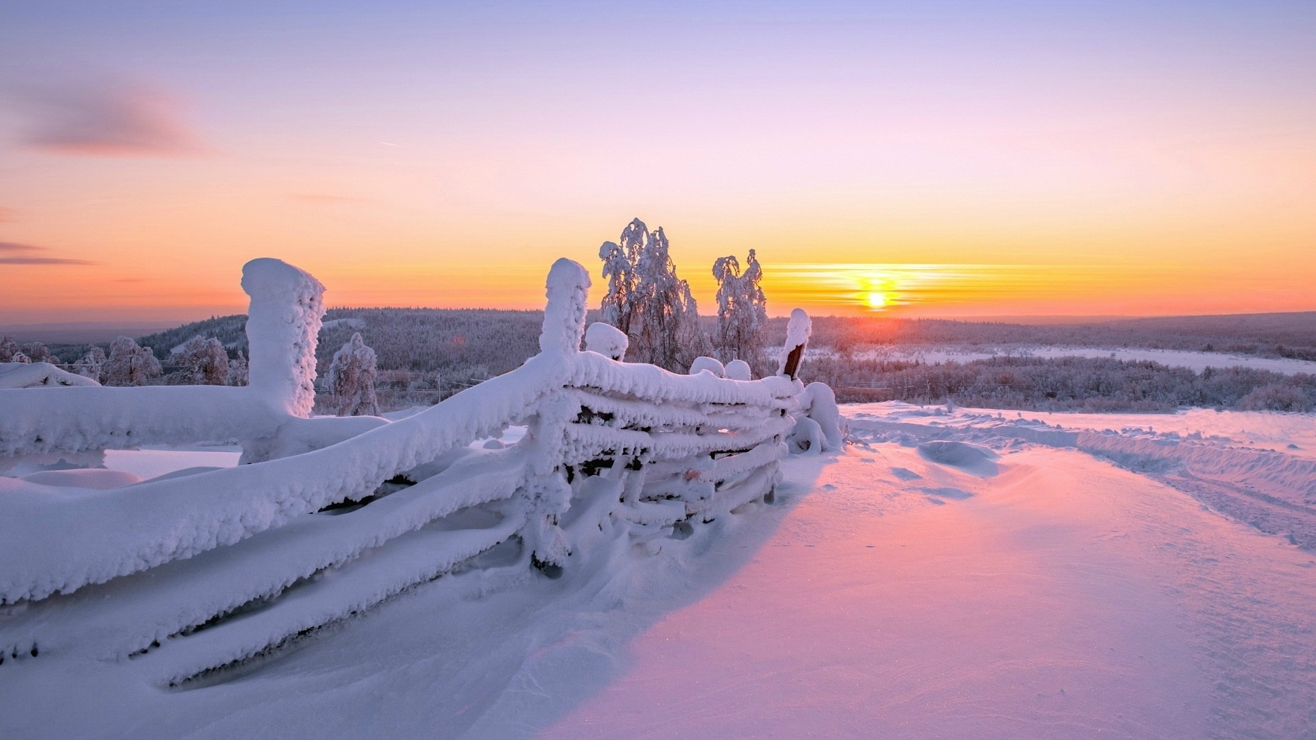 First Snow Wallpaper Winter Nature Wallpapers in jpg format for