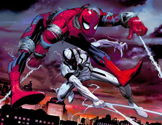 Heroes comics Spiderman hero wallpaper