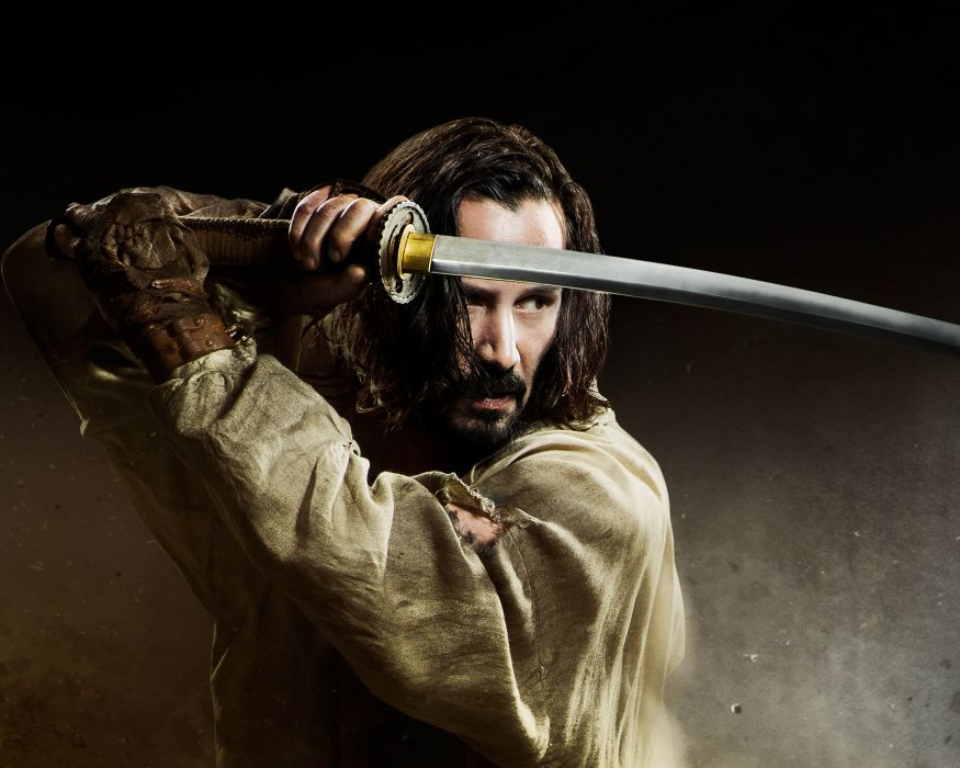 Men Keanu Reeves 47 Ronin 2013 Samurai Sabre Movies Celebrities warrior fantasy katana      te wallpaper