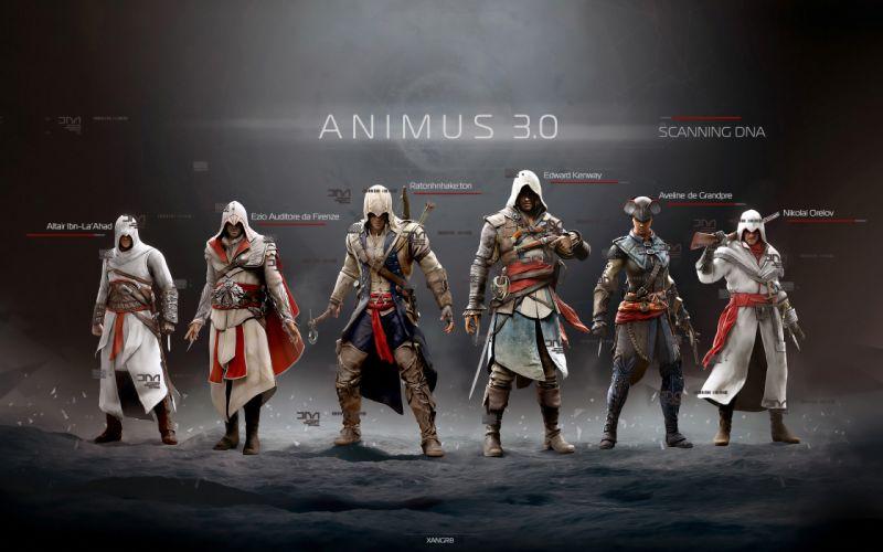 Assassins Creed Warrior Game fantasy poster f wallpaper