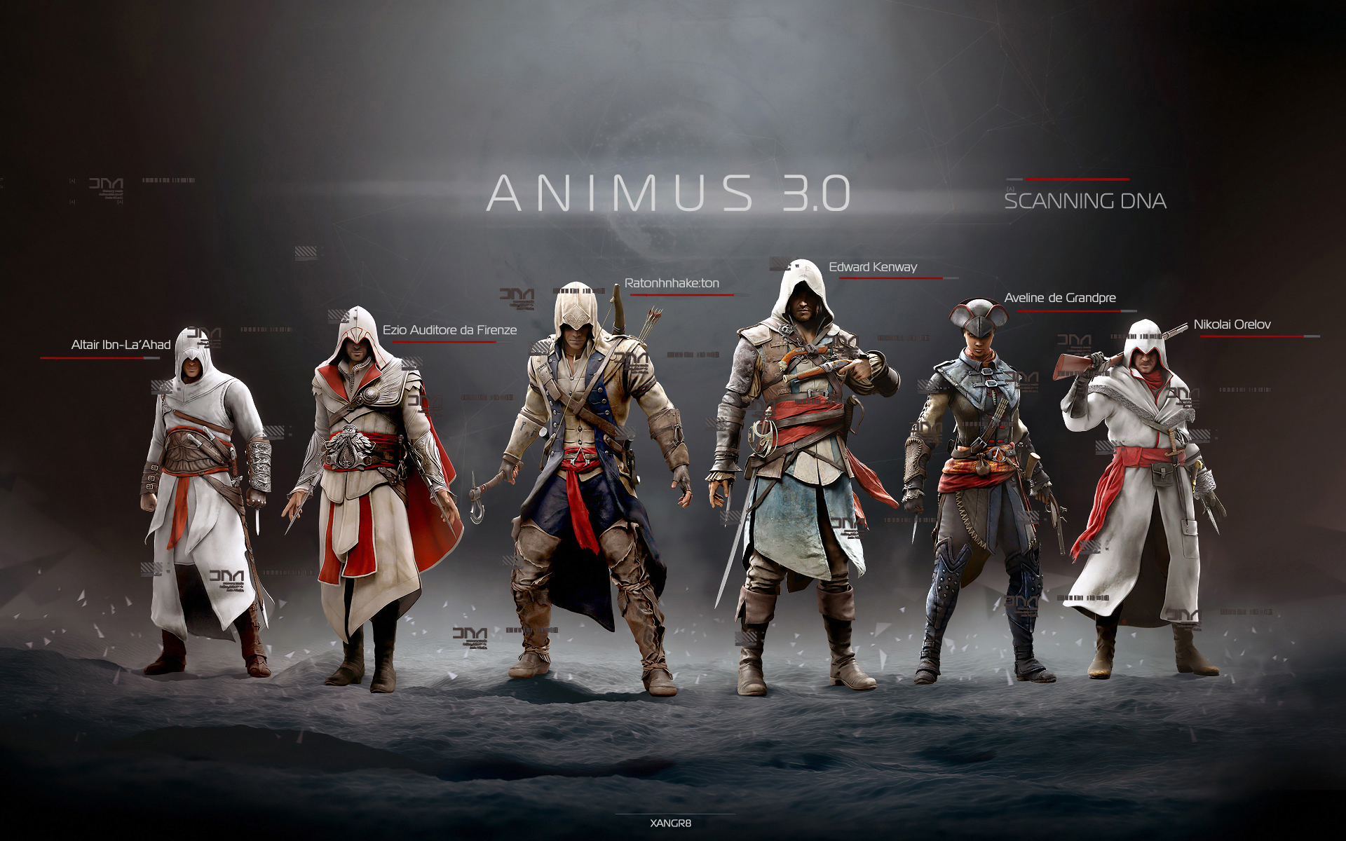 Assassins Creed Warrior Game Fantasy Poster F Wallpaper