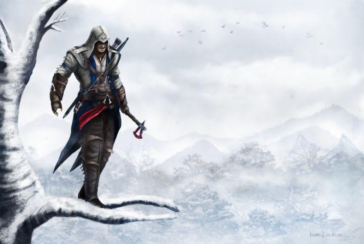 Assassins Creed Warrior Wall Game fantasy f wallpaper