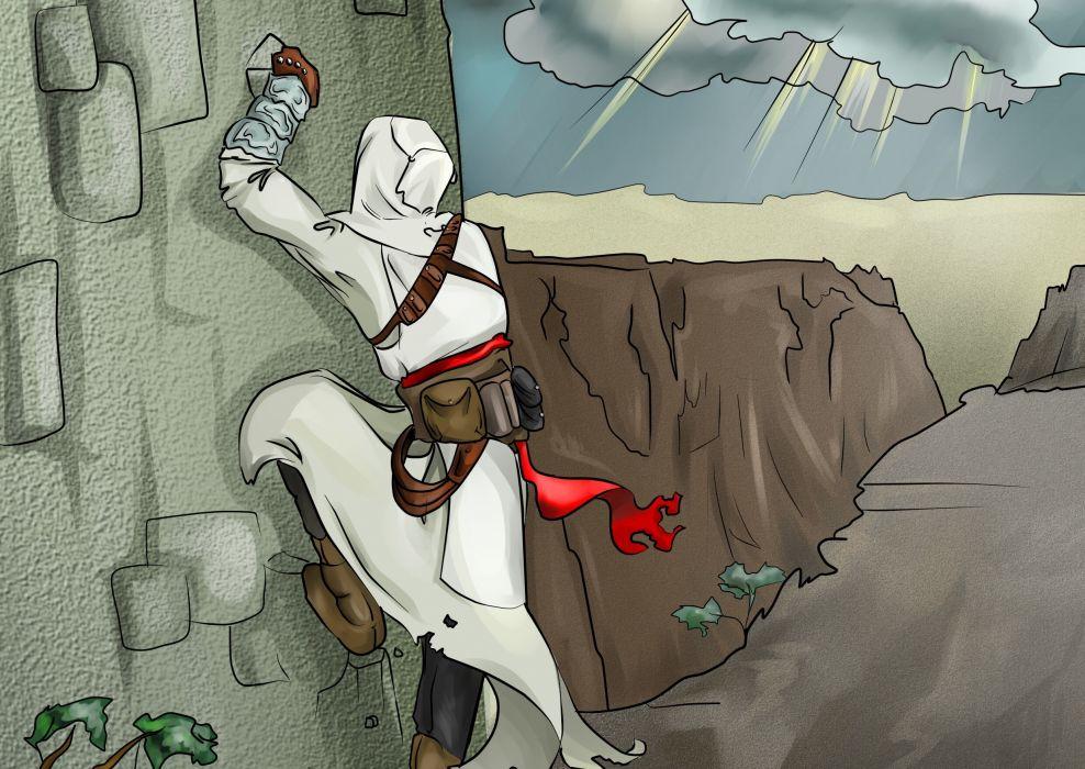 Assassins Creed Warriors Wall Game fantasy wallpaper