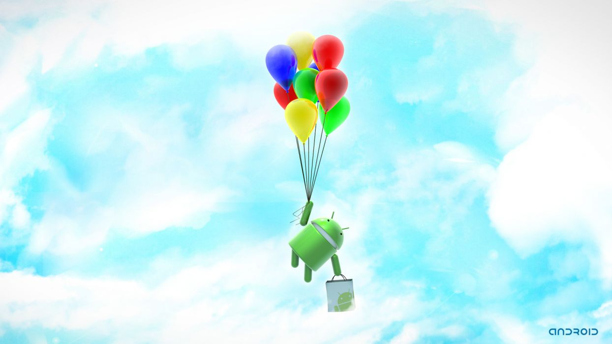 D Graphics Computers Android Toy balloon wallpaper