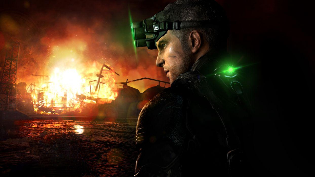 Splinter Cell Men Games wallpaper