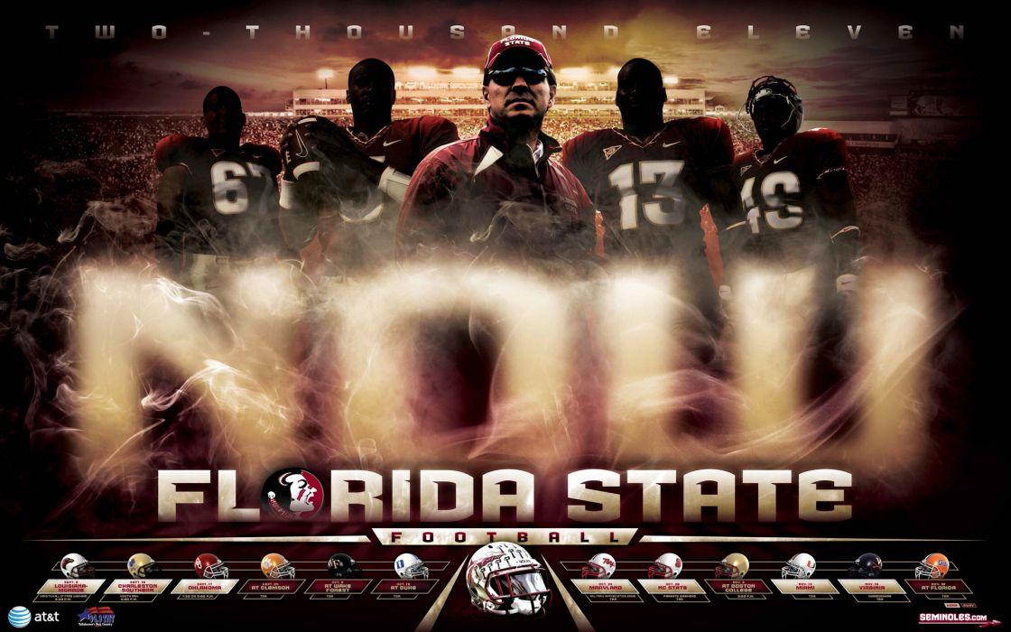 FORIDA STATE SEMINOLES college football (1) wallpaper