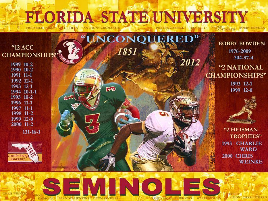 FORIDA STATE SEMINOLES college football (25) wallpaper