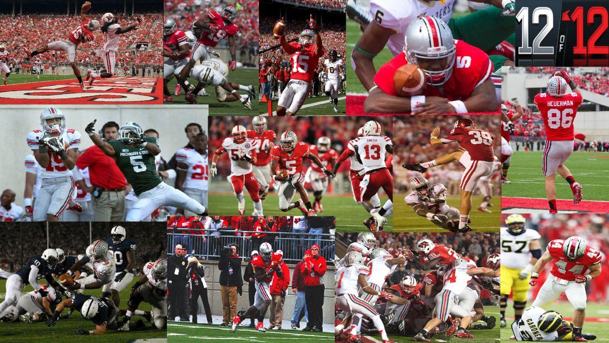 OHIO STATE BUCKEYES college football (1) wallpaper