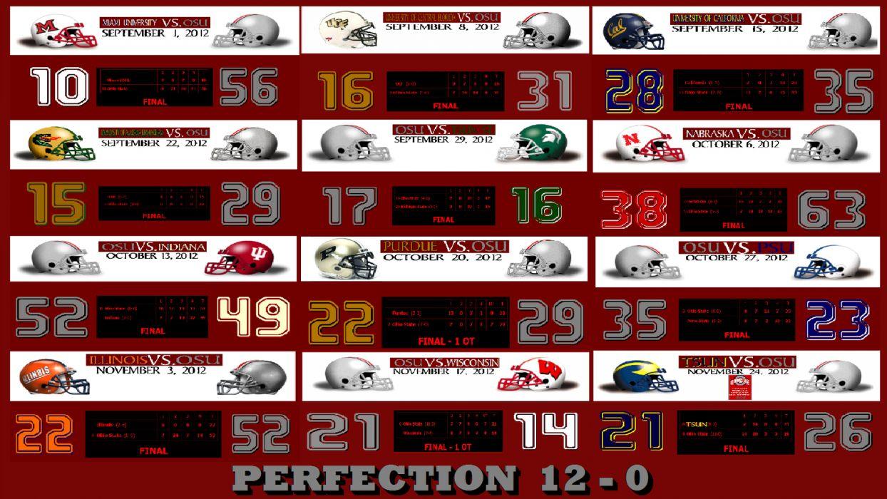 OHIO STATE BUCKEYES college football (5) wallpaper