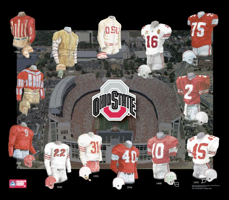 OHIO STATE BUCKEYES college football (9) wallpaper
