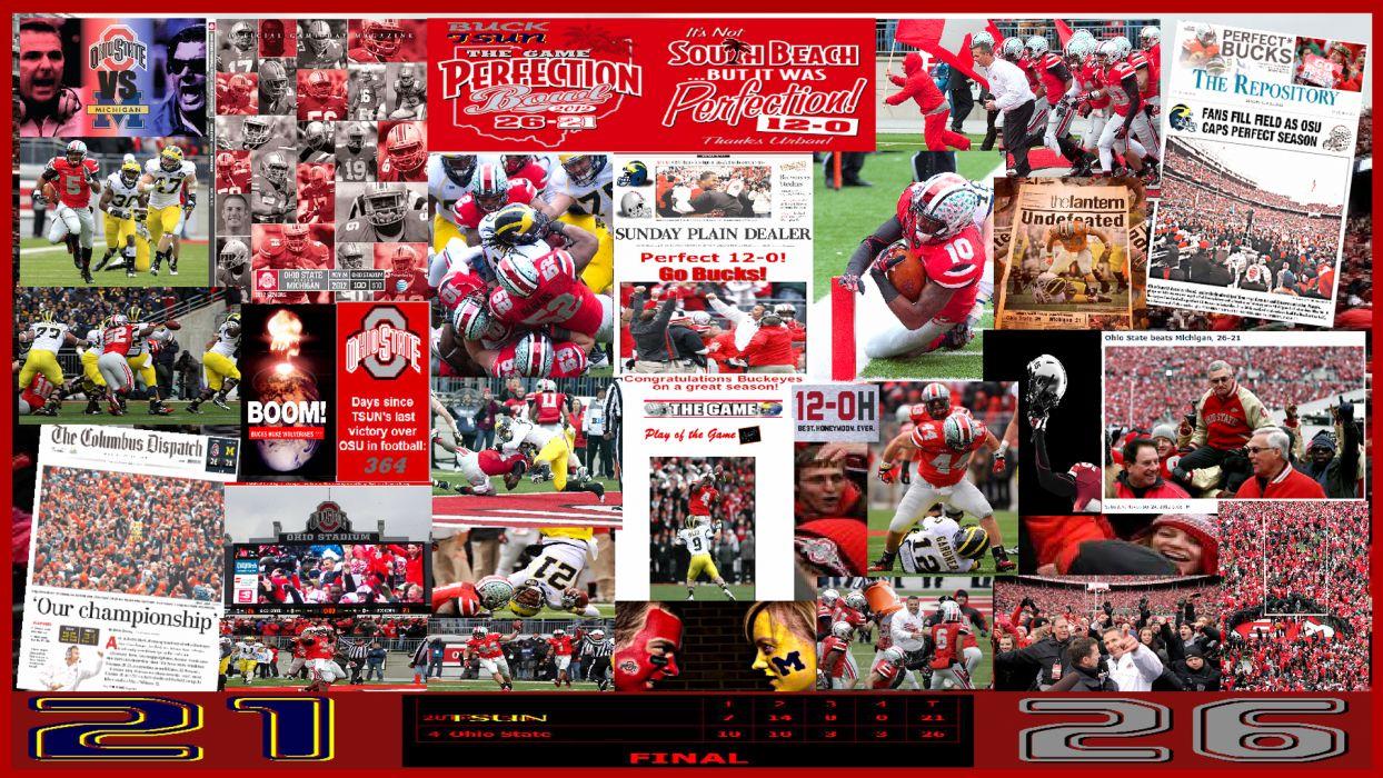 OHIO STATE BUCKEYES college football (6) wallpaper