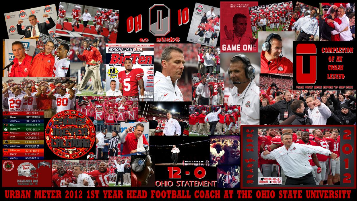 OHIO STATE BUCKEYES college football (7) wallpaper