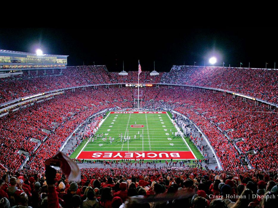 OHIO STATE BUCKEYES College Football 13 Wallpaper