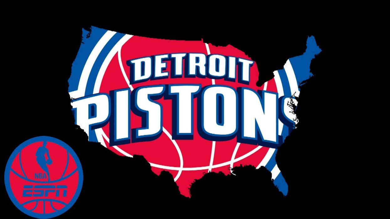 DETROIT PISTONS basketball nba (8) wallpaper