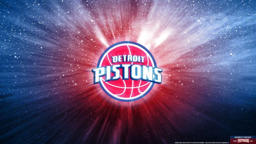 DETROIT PISTONS basketball nba (10) wallpaper