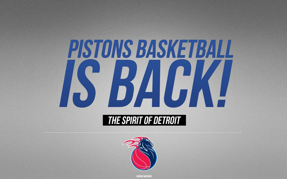 DETROIT PISTONS basketball nba (11) wallpaper