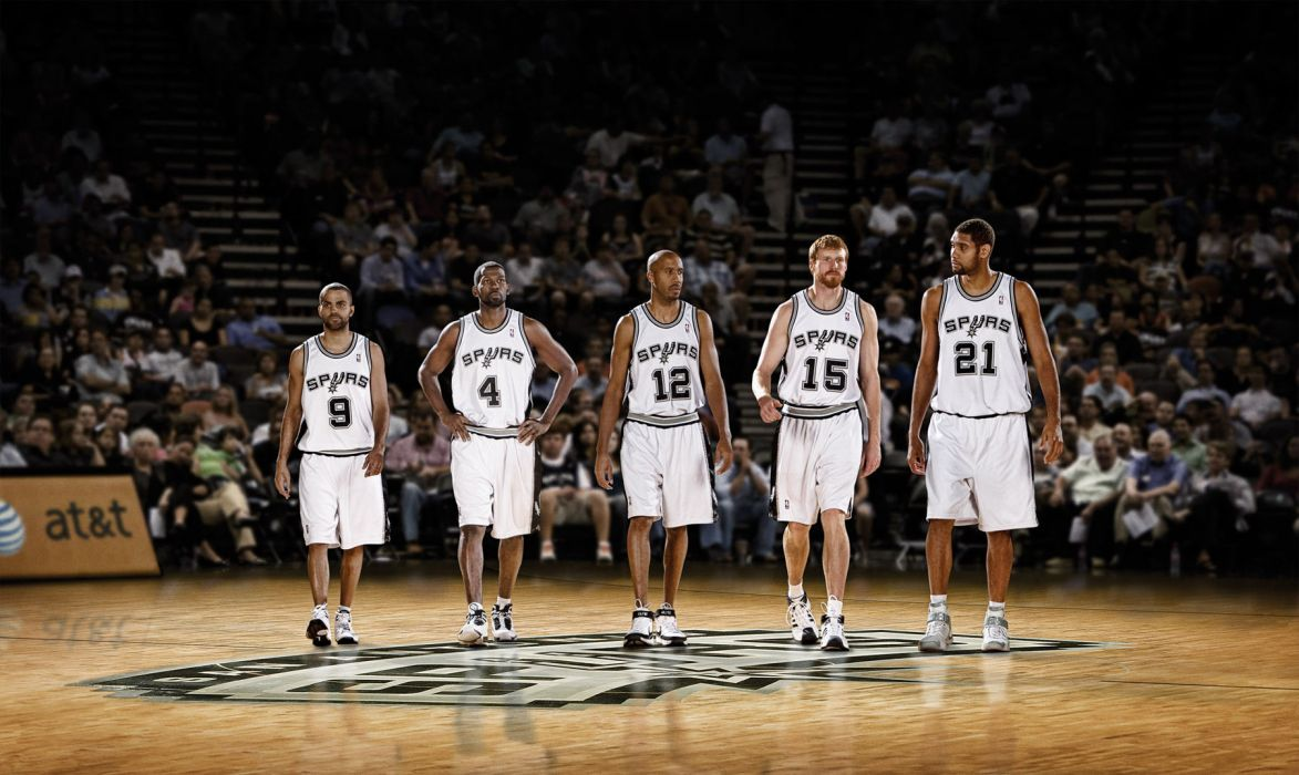 SAN ANTONIO SPURS basketball nba (1) wallpaper