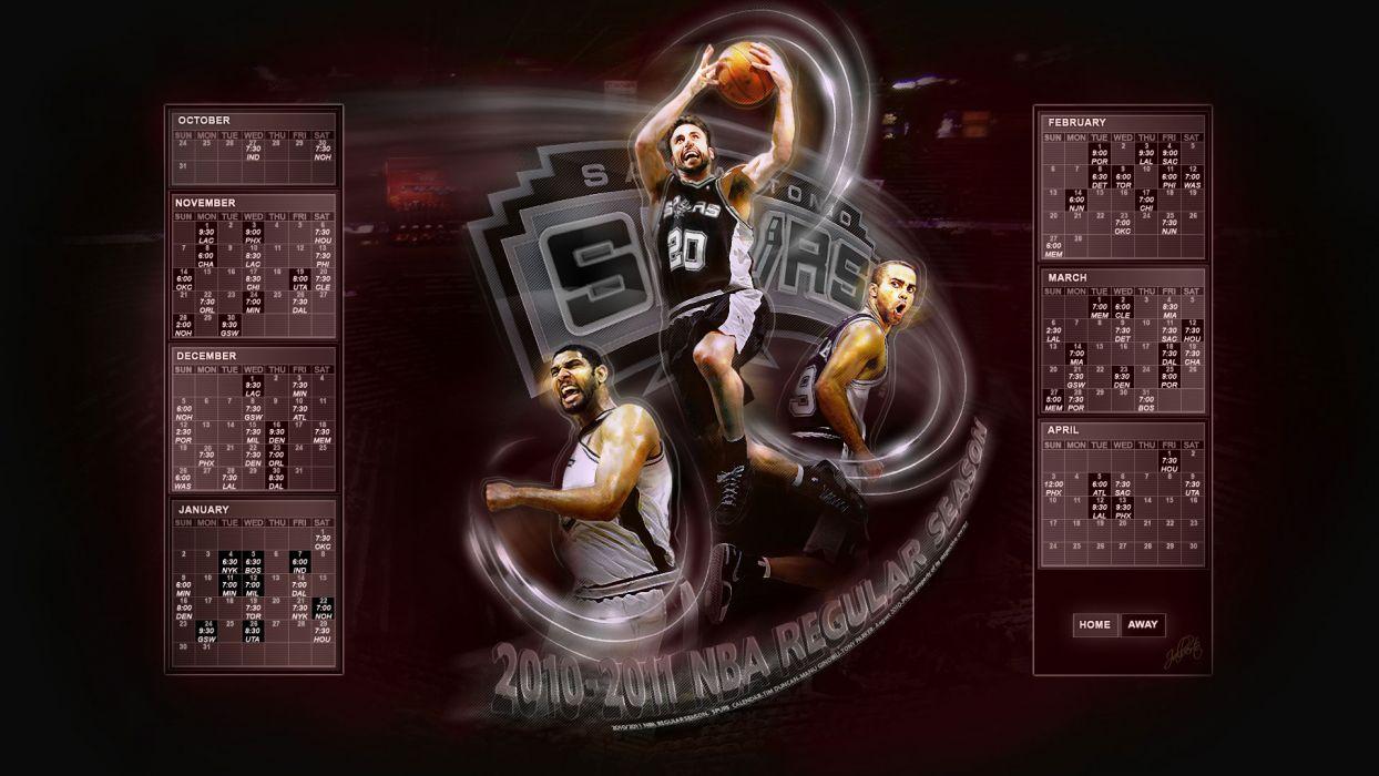 SAN ANTONIO SPURS basketball nba (20) wallpaper