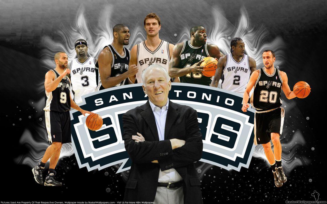 SAN ANTONIO SPURS basketball nba (21) wallpaper