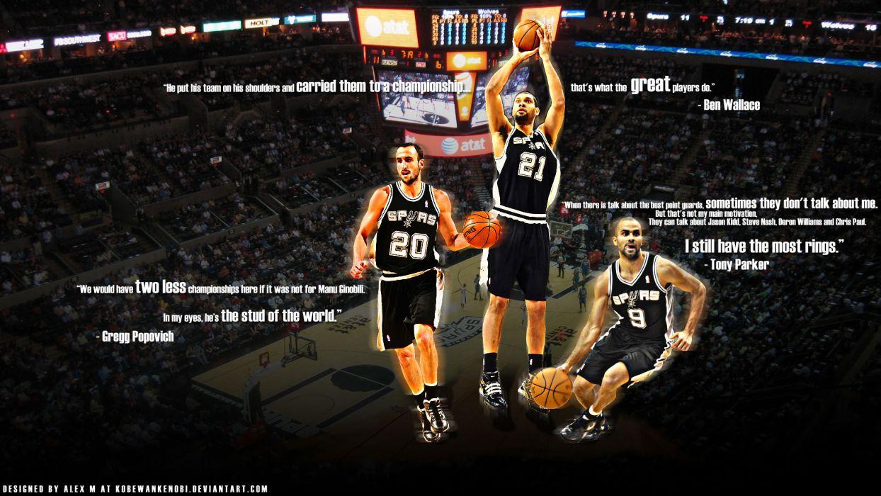SAN ANTONIO SPURS basketball nba (30) wallpaper